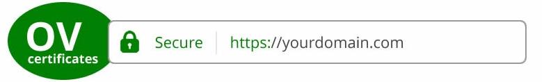 OV сертификат SSL