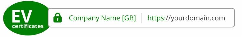 EV сертификат SSL